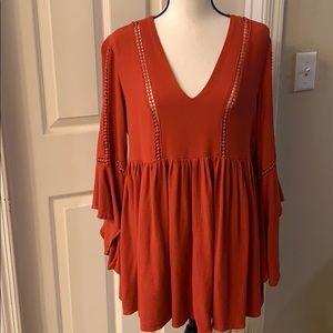 Earthbound boho dress